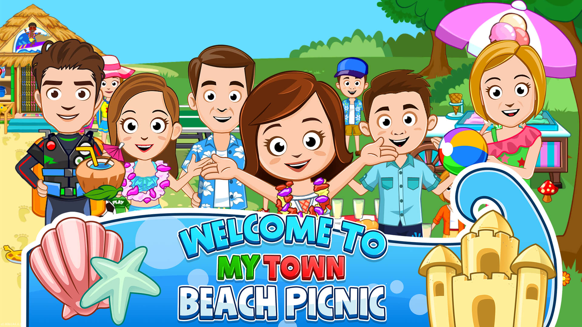 Just Before School Starts : Beach Picnic Gets a Huge Update!