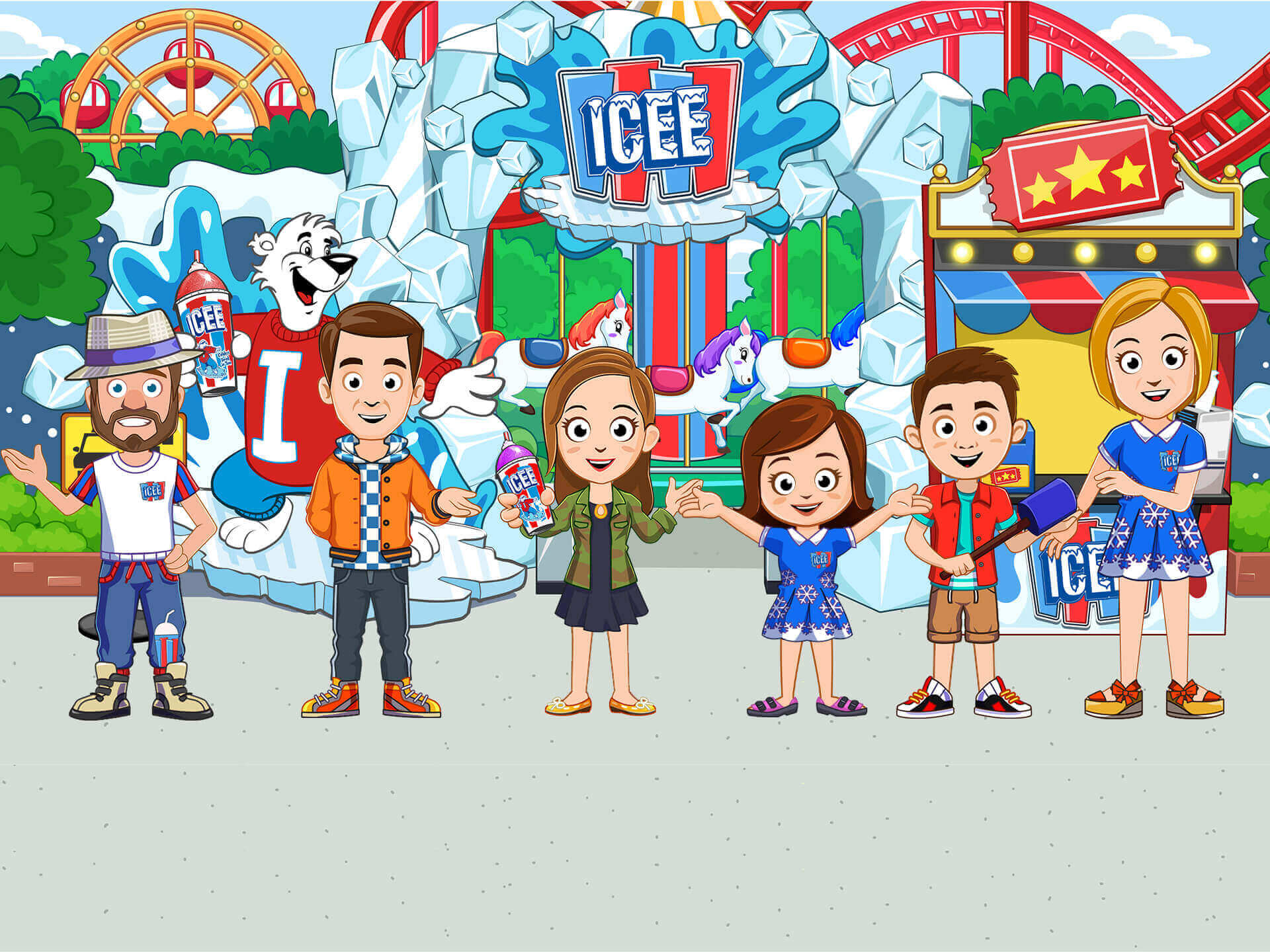 ICEE Amusement Park
