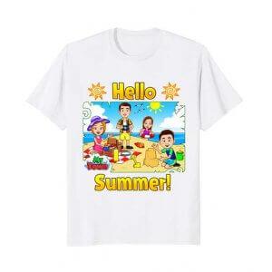 My Town Beach Summer T-shirt