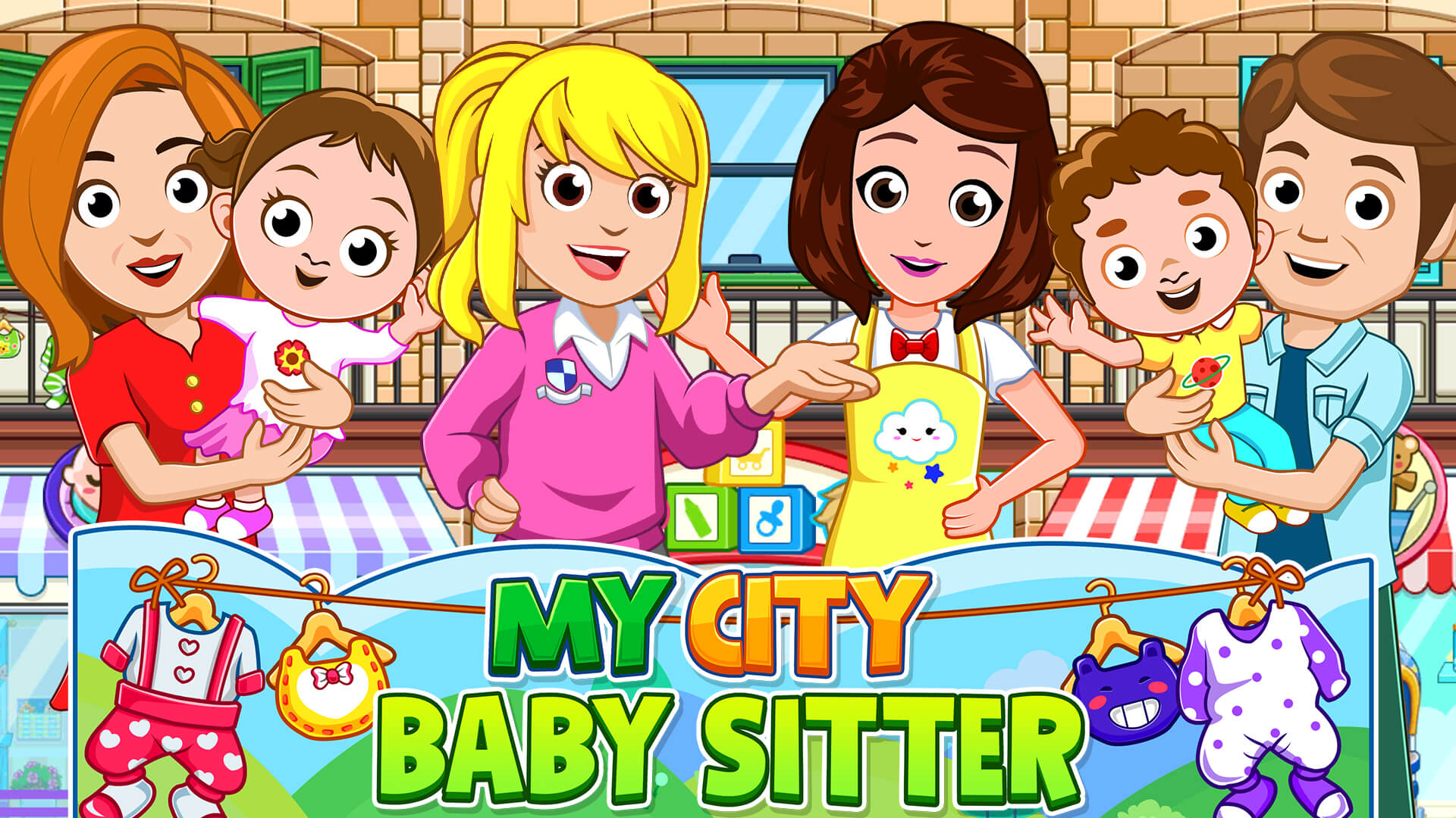 All-New My City: Babysitter Now Available from Award-Winning My Town Games