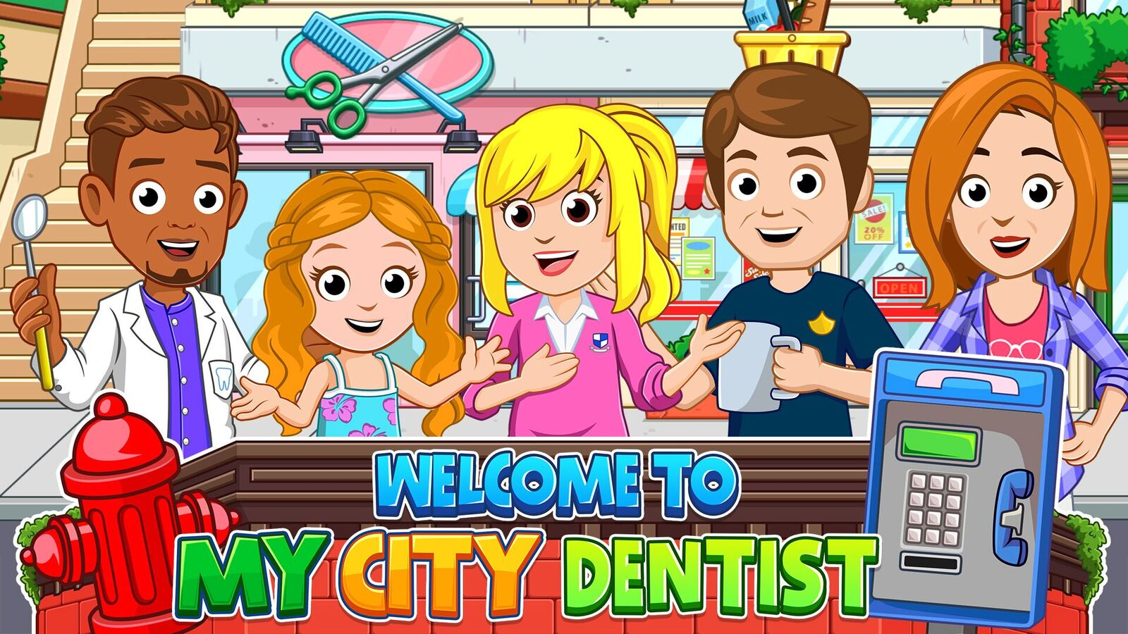 Don't Be Down in the Mouth  About the All-New Game from My City — 'My City: Dentist'