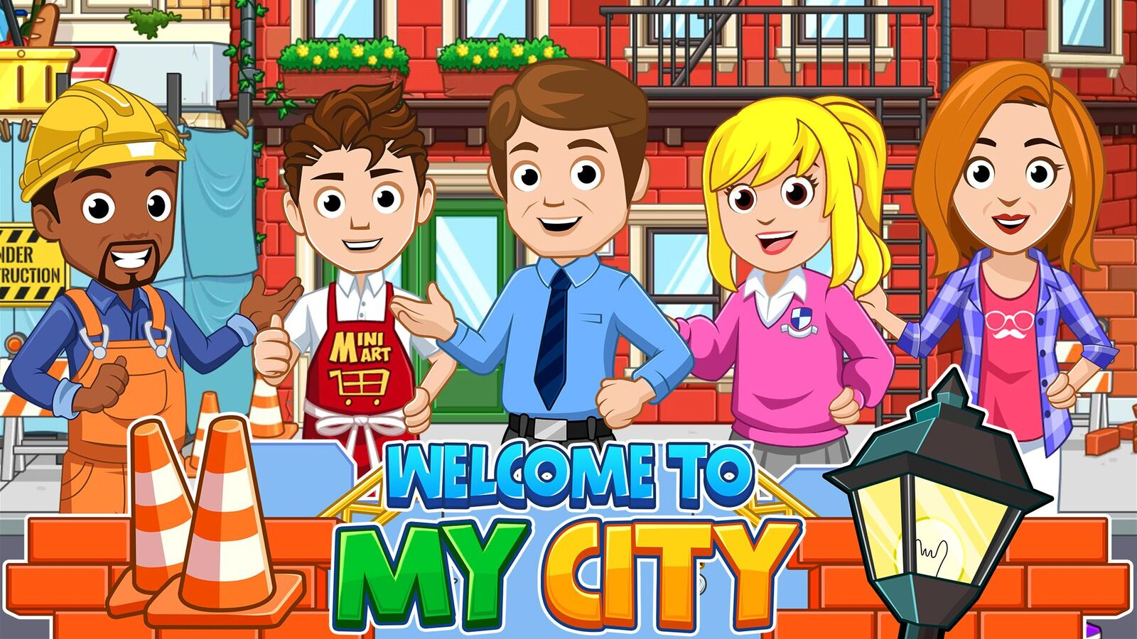 Award-Winning My Town Games  Expands with Launch of All-New  'My City' Series of Games